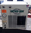 Used Ultra Air 75 cfm Standard Temperature Refrigerant Air Dryer